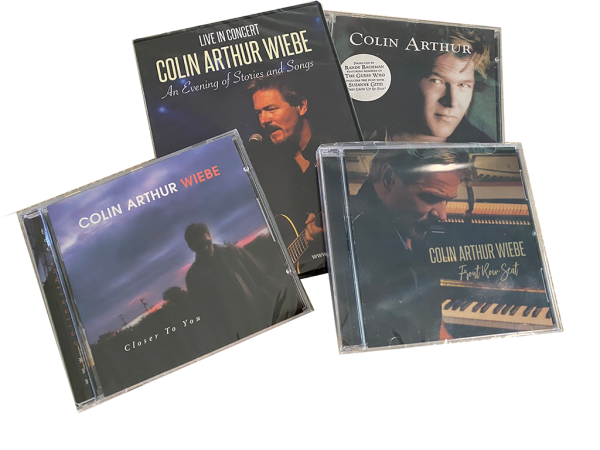 Colin Arthur Wiebe -DVD and CD Bundle
